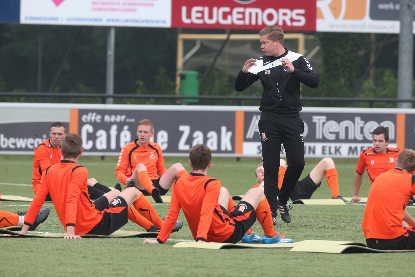 Longa '30 en hoofdtrainer Erik Zandstra zitten weer op één lijn