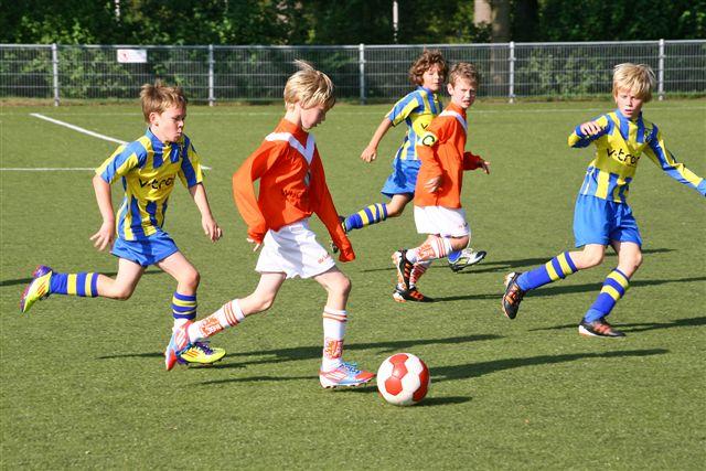 Voetbalmix toernooi voor de jeugd in Oost Gelre