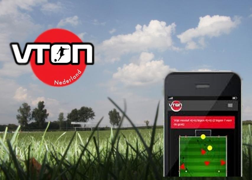 Uitleg VTON-app tijdens trainersavond