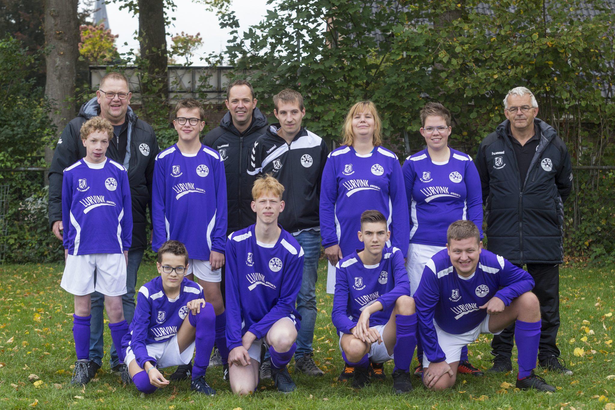 G-voetbalteams Longa '30 en Grol verlengen samenwerking