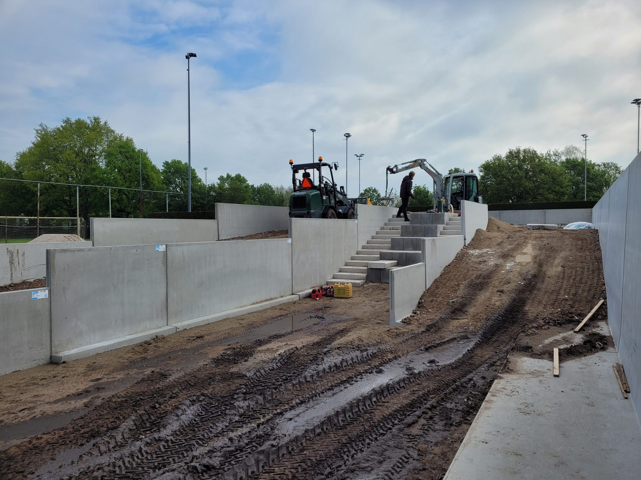 Realisatie Vitaal Sportpark in volle gang