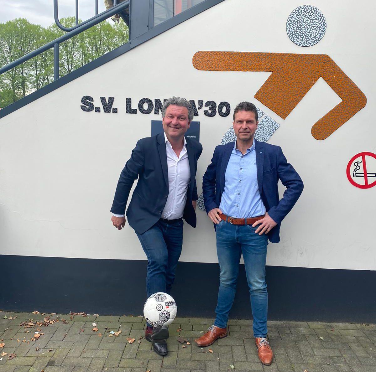 Steentjes Makelaars en Verzekeringen shirtsponsor Longa '30