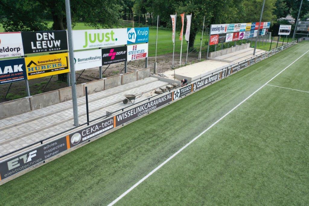 Vitaal Sportpark en nieuwe staantribune krijgen vorm 4