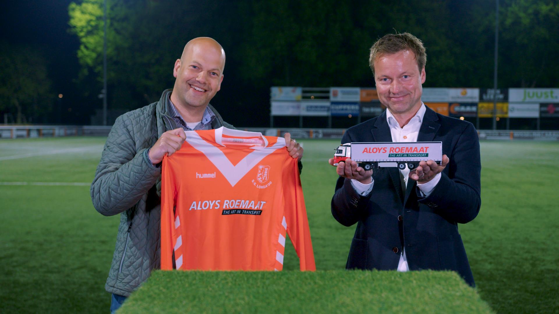 Aloys Roemaat Transport nieuwe hoofdsponsor Longa '30