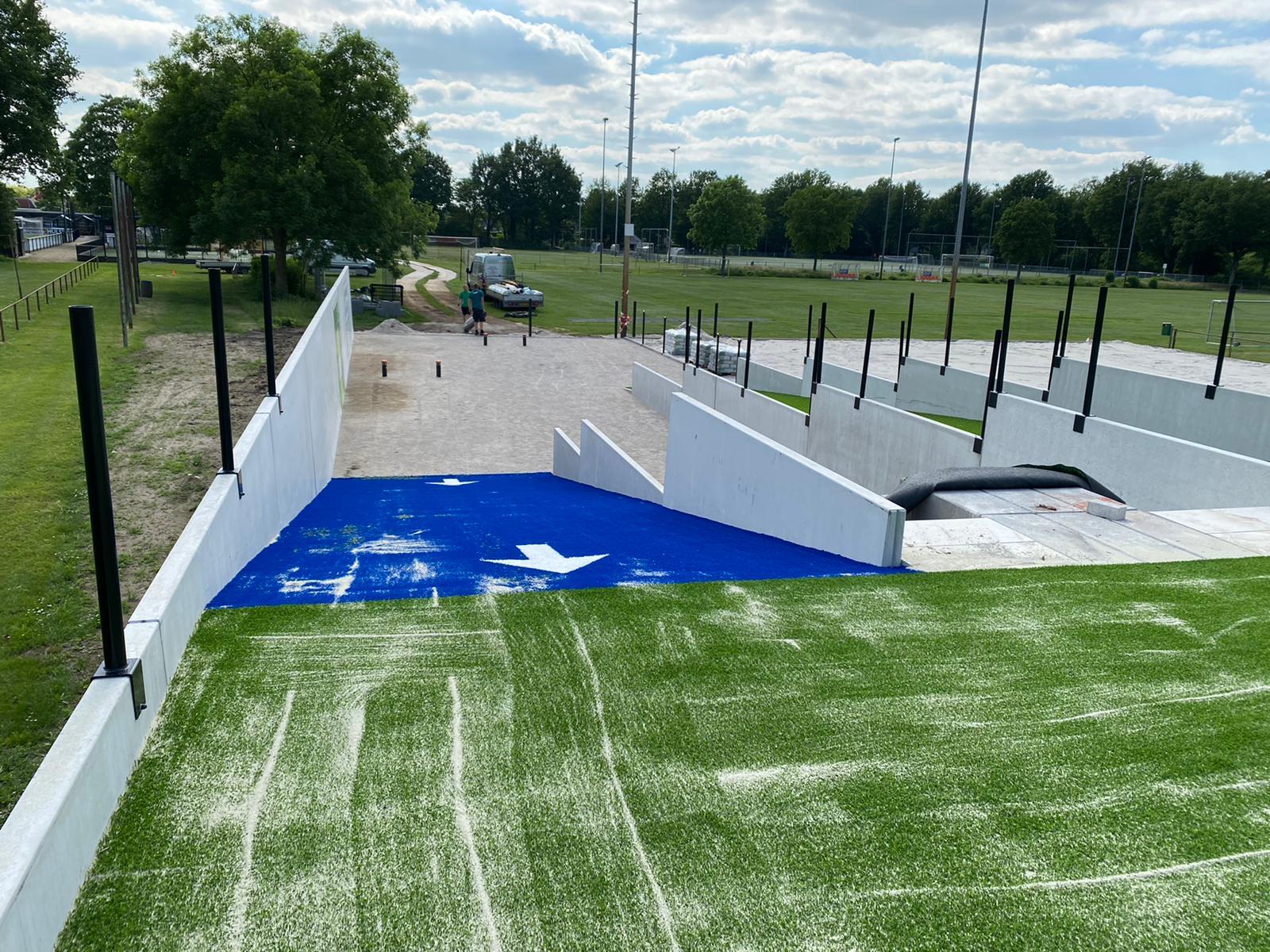 Vitaal Sportpark krijgt vorm