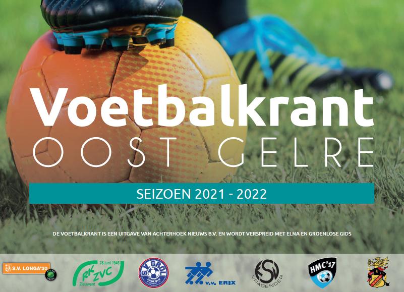 Voetbalkrant Oost Gelre 2021-2022